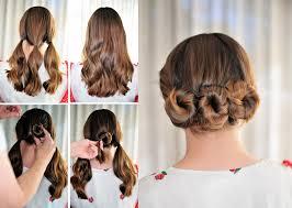 hair tutorials for medium hair simple hairstyles step by step for medium hair three bun hair
