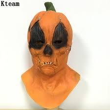 Scarecrow Mask Online Shop Halloween Cosplay Mask Pumpkin Scarecrow Mask Creepy