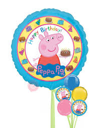 i m sorry balloons for delivery peppa pig happy birthday balloons delivered inflated bloonaway