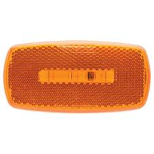 oval led clearance marker light replaceable lens fleet count
