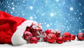 christmas presents wallpapers wallpapers new year snow present balls holidays