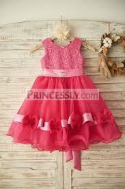 fuschia wedding dress princess baby wedding dress in fuschia princessly medium
