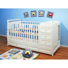 Convertible Cribs With Changing Table And Drawers Athena 2 In 1 Convertible Crib And Changer Table Combo