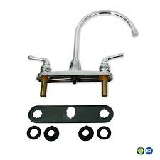everflow kitchen faucet without spray high arc swivel spout two