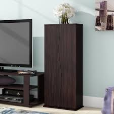 cd cabinet with doors media cabinets you ll love wayfair
