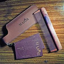 Sisir Kayu major wooden comb sw 1 review pomadelux