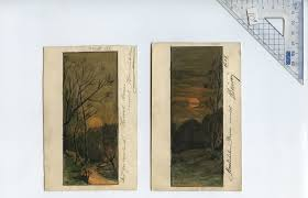 Modern Art by File Modern Art Of Austria Hungary In 1904 Set Of 2 Cards Sunset