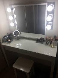 Walmart Bathroom Mirrors by Hollywood Vanity Under 300 Ikea Malm Vanity Ikea Mirror