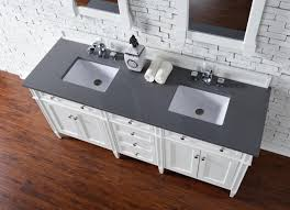 White Cottage Bathroom Vanity by Contemporary 72 Inch Double Sink Bathroom Vanity Cottage White