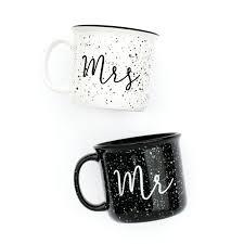 mr u0026 mrs campfire mug set ceramic campfire mugs mr mrs