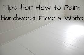 paint wood floors white 10050