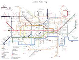 London Metro Map by Conceptdraw Samples Geo Maps
