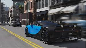 bugatti chiron crash bugatti chiron in downtown ls grandtheftautov pc