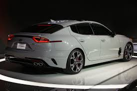 cars kia the kia stinger is a sports sedan that sizzles in a sea of