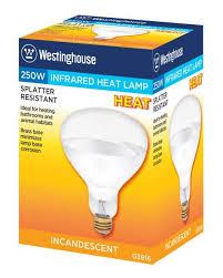 westinghouse r40 250 watt medium base incandescent lamp
