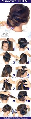 prom updo instructions 5 minute romantic updo tutorial elegant easy hairstyles