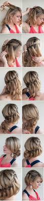 Hochsteckfrisurenen Diy by Die Besten 17 Bilder Zu Diy Hair Style Auf