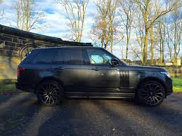 land rover black 2017 used 2017 land rover range rover for sale in west yorkshire
