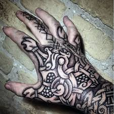 cool guys hand norse runes tattoo ideas girlswithtattoos