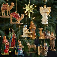 three nativity ornaments national geographic store