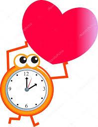 imagenes animadas sobre amor dibujos animados de reloj de tiempo de amor archivo imágenes