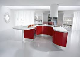kitchens with red walls and white cabinets u2014 smith design