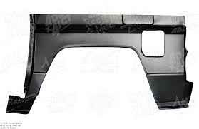 Quarter Panel Fender Toyota Landcruiser Series 70 Bj70 3 4