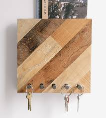 Key Home Decor by Reclaimed Wood Mail Organizer And Key Rack Home Decor U0026 Lighting