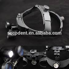 wireless dental loupe light dental 2 5x surgical binocular medical loupe with led head light