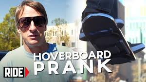 lexus hoverboard explained huvr tech tony hawk reveals hoverboard prank youtube