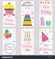 happy birthday invitation cardbirthday greeting cardwelcome stock