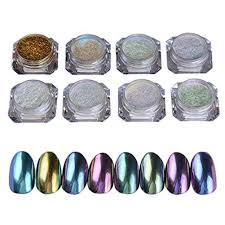 born pretty 8 box shinning mirror nail glitter powder gorgeous
