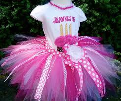 ribbon tutu personalized pink cupcake 1st 2nd 3rd birthday tutu clothing