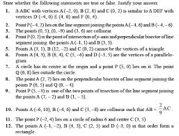 class 10 important questions for maths u2013 coordinate geometry
