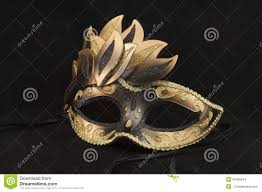 black and gold masquerade masks black and gold ballroom masquerade mask stock photo image 46450644