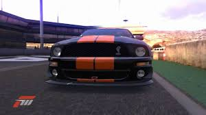 Black Mustang Red Stripes Forza Motorsport 3 Mustang Gt500 Black W Red Stripes 300ft