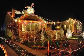 Antique Christmas Lights Christmas Tree Lane Alameda Rainforest Islands Ferry