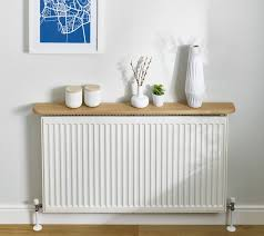 kitchen radiator ideas oak radiator shelves 8428