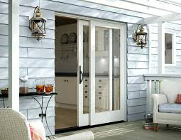 Parts Of An Exterior Door Glass Doors Interior Sliding Patio Doors Single Door