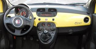Fiat 500 Interior First Drive 2012 Fiat 500 Autoblog
