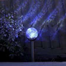 Solar Stake Garden Lights - solar orion glass stake garden lights
