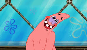 Blushing Meme - blushing patrick star gif by spongebob squarepants find share