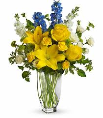 Flowers For Men - bright and happy hospital flowers