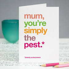 autocorrect simply the pest card for by wordplay