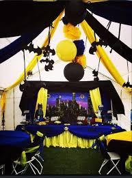 Batman Table Decorations Superheroes And Lego Birthday Party Ideas Lego Birthday Party