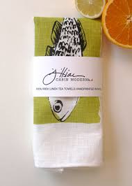 modern kitchen towels linens and prints u2014 cabin modern ny
