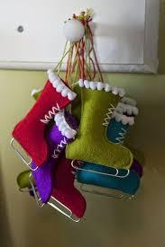 Christmas Decoration Ideas Crafts Best 25 Christmas Felt Crafts Ideas On Pinterest Felt Christmas