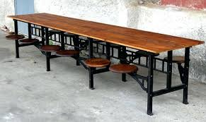 extendable round dining table seats 12 eiffel round dining table large rustic seats 12 andyoziercom photo