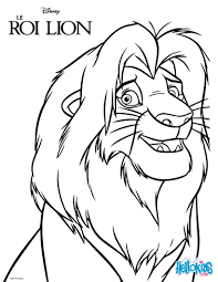 simba coloring page simba and nala lion king coloring pages