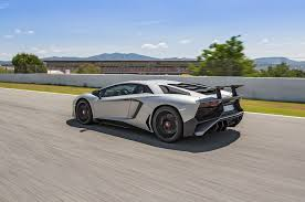 silver lamborghini lamborghini aventador lp 750 4 superveloce review all about